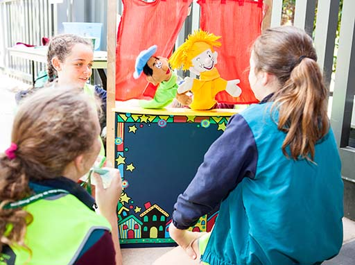 Kids in Action 2017 puppet show