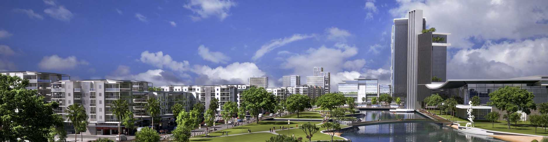Artists Impression of Maroochydore City Centre