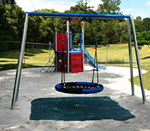 New playground at Silverwood Park in Burnside Sunshine Coast Council Nambour