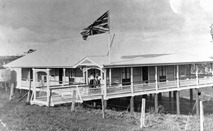 The Maleny Soldiers Memorial Hospital in Bean Street, 1920