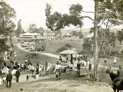 heritage discovery showcase, May Day Carnival Procession, Nambour, c.1922