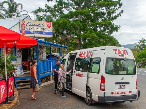 Flexilink pick up at Conondale General Store