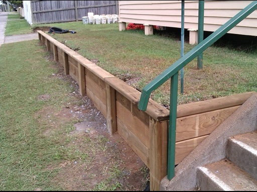 Are you responsible for maintaining a shared retaining wall?